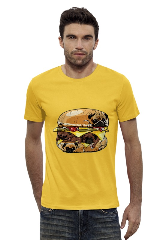 Футболка Wearcraft Premium Slim Fit Printio Sandwich dog футболка wearcraft premium slim fit printio gta 5 dog