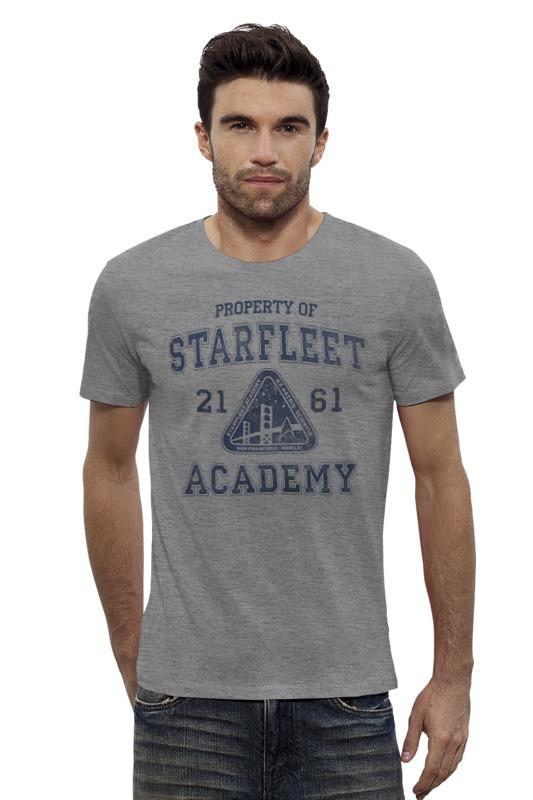 Футболка Wearcraft Premium Slim Fit Printio Starfleet academy