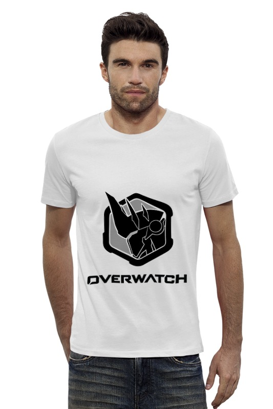 Футболка Wearcraft Premium Slim Fit Printio Overwatch reinhardt bw cd диск django reinhardt souvenirs de django reinhardt 1 cd