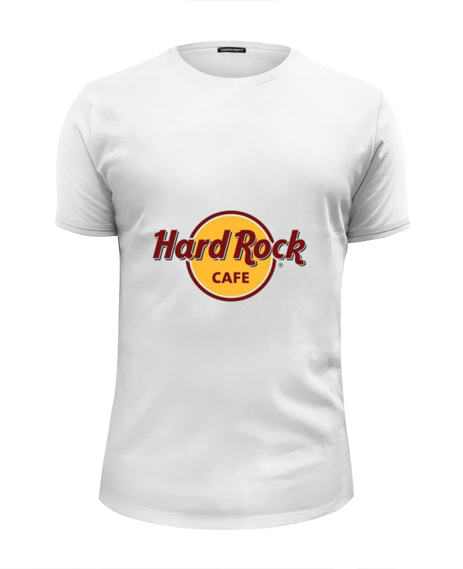 Футболка Wearcraft Premium Slim Fit Printio Hard rock cafe стоимость