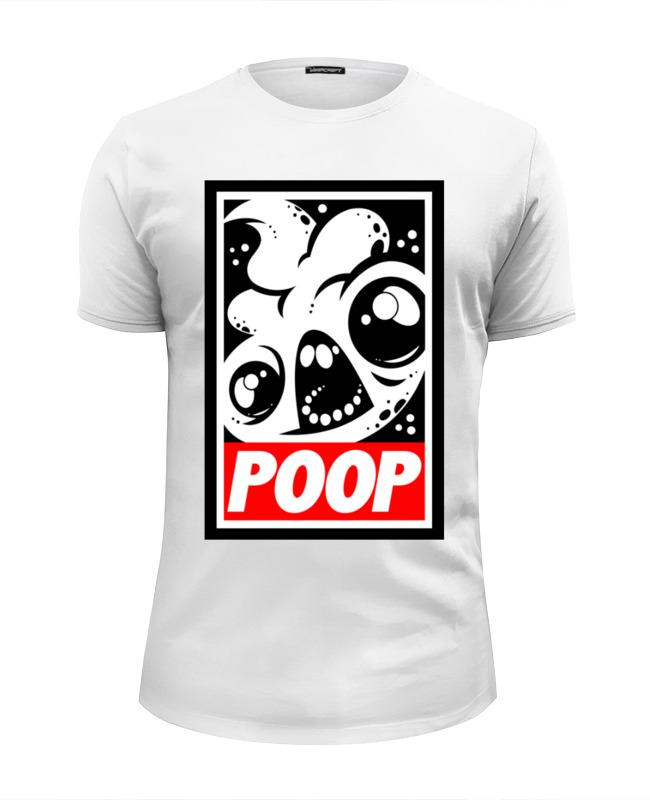 Футболка Wearcraft Premium Slim Fit Printio Какаха (poop) майка классическая printio какаха poop