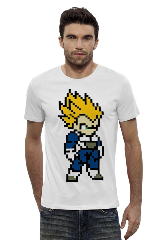 Футболка Wearcraft Premium Slim Fit Printio Super saiyan (dragon ball) футболка wearcraft premium slim fit printio training to go super saiyan