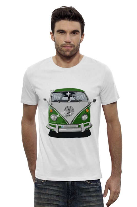 Футболка Wearcraft Premium Slim Fit Printio Volkswagen автобус volkswagen lt 28
