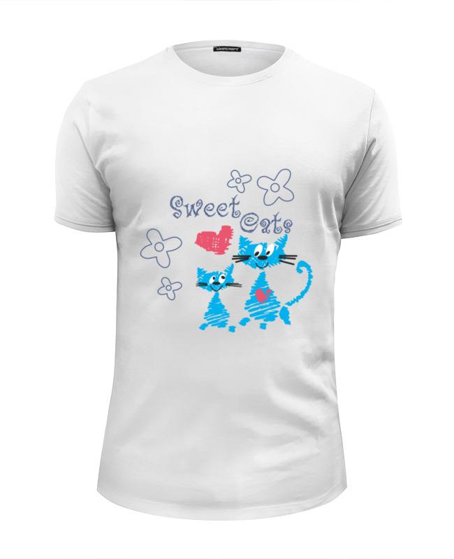 Футболка Wearcraft Premium Slim Fit Printio Sweet cats