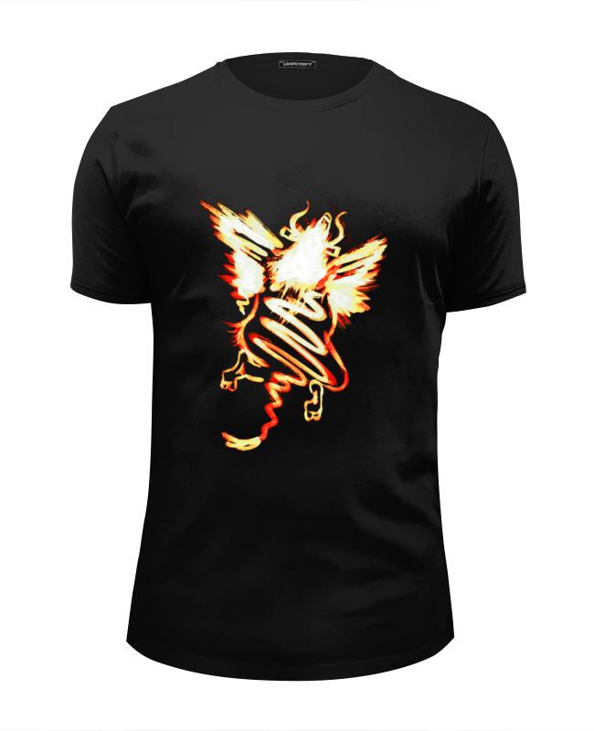 Printio Полет шмеля (оранж) футболка wearcraft premium slim fit printio полет над островом