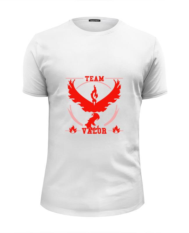 Футболка Wearcraft Premium Slim Fit Printio Команда вейлор (покемон гоу) футболка tommy hilfiger футболка