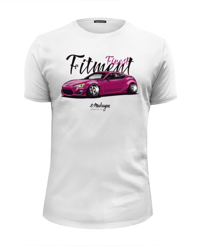 Футболка Wearcraft Premium Slim Fit Printio Finest fitment gt86 evans l their finest