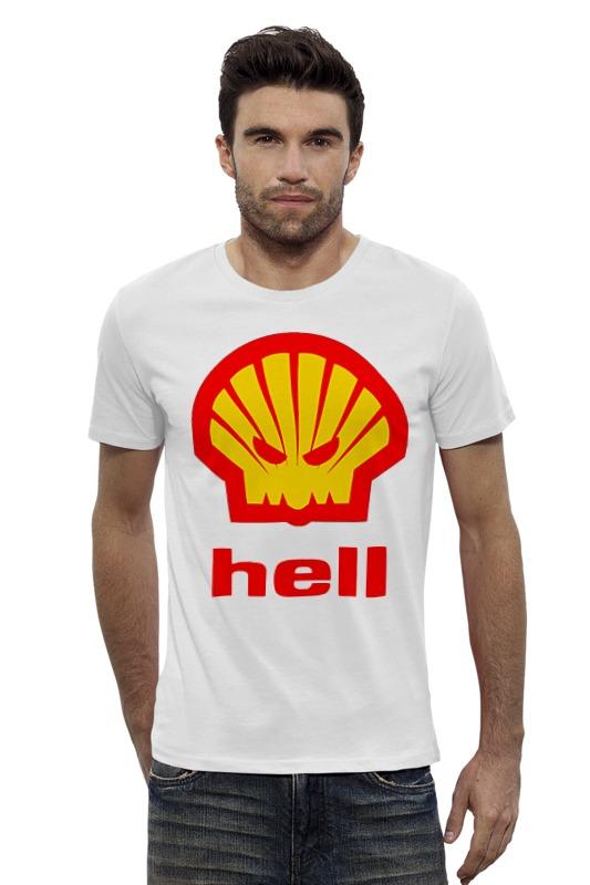 Футболка Wearcraft Premium Slim Fit Printio Hell (ад) agip масло моторное в краснодаре