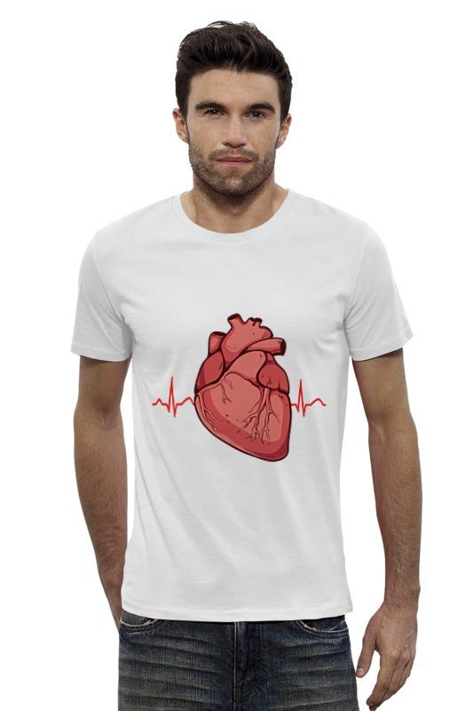 Футболка Wearcraft Premium Slim Fit Printio Сердце футболка wearcraft premium slim fit printio avengers