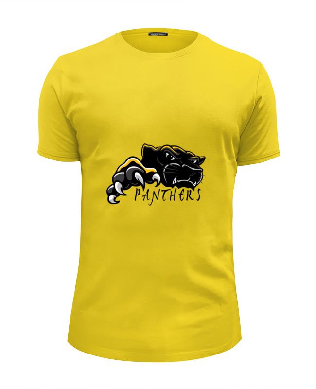купить Футболка Wearcraft Premium Slim Fit Printio Черная пантера по цене 1570 рублей