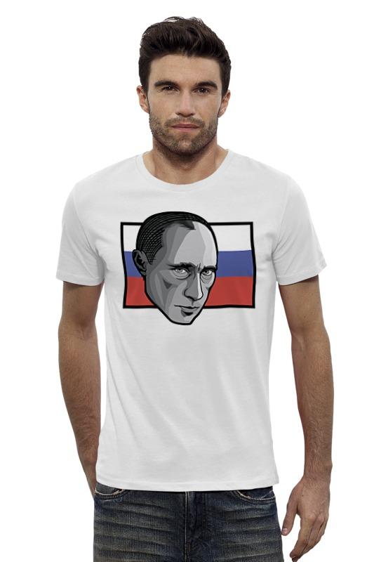 Футболка Wearcraft Premium Slim Fit Printio Путин (россия) футболка wearcraft premium printio россия украина