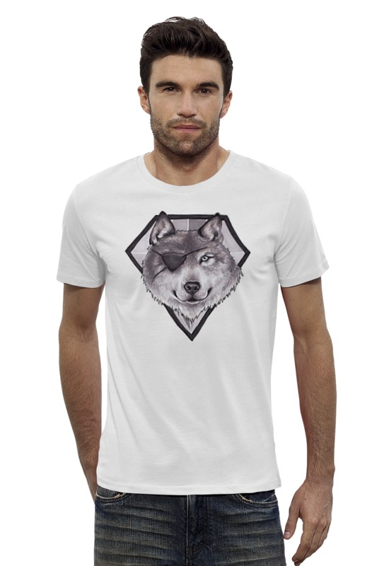 Футболка Wearcraft Premium Slim Fit Printio Diamond dog сумка printio gta 5 dog