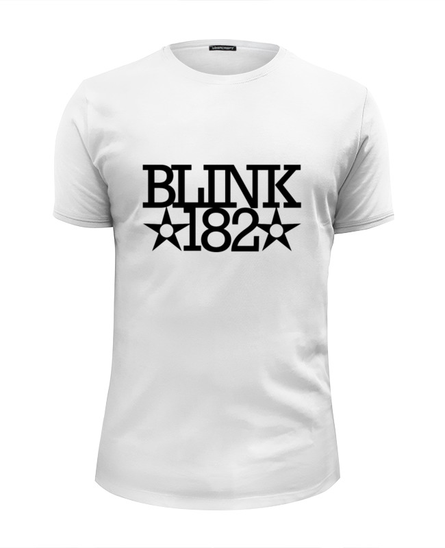 Printio Blink182 star футболка wearcraft premium slim fit printio converse all star