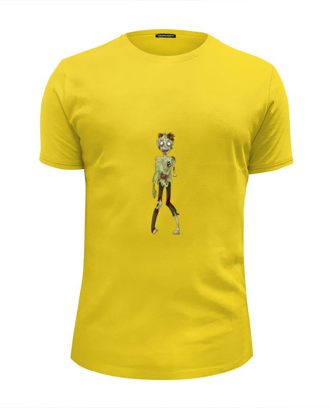 Футболка Wearcraft Premium Slim Fit Printio Zombie girl (зомби) футболка wearcraft premium slim fit printio face girl