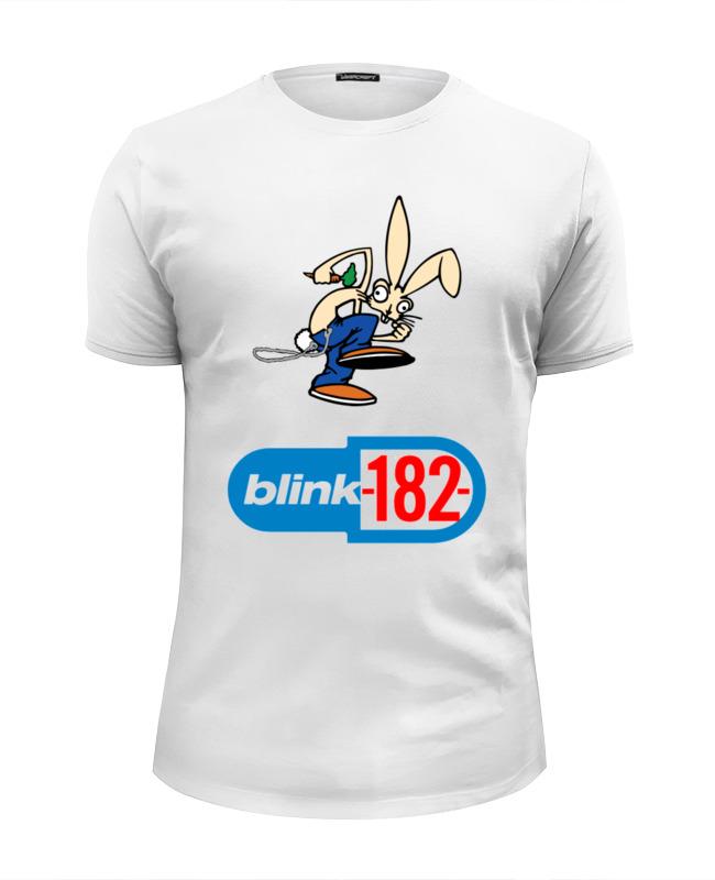 Футболка Wearcraft Premium Slim Fit Printio Blink-182 rabbit футболка wearcraft premium printio rabbit cool mix крутой кроличий микс