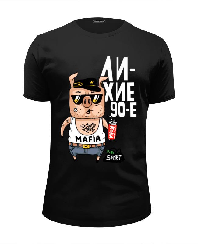 Футболка Wearcraft Premium Slim Fit Printio Футболки с пяточком футболки