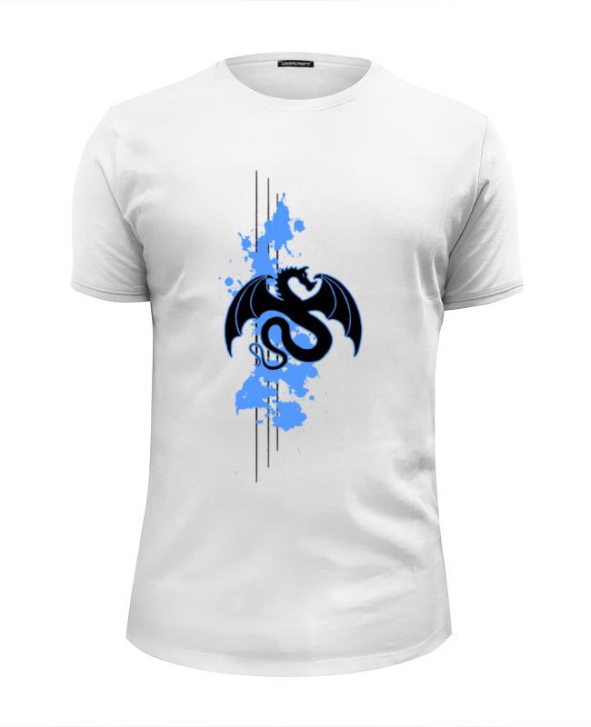 Футболка Wearcraft Premium Slim Fit Printio Дракон футболка wearcraft premium slim fit printio китайский дракон