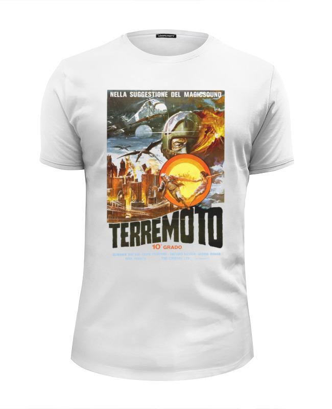 Футболка Wearcraft Premium Slim Fit Printio Terremoto лонгслив printio terremoto