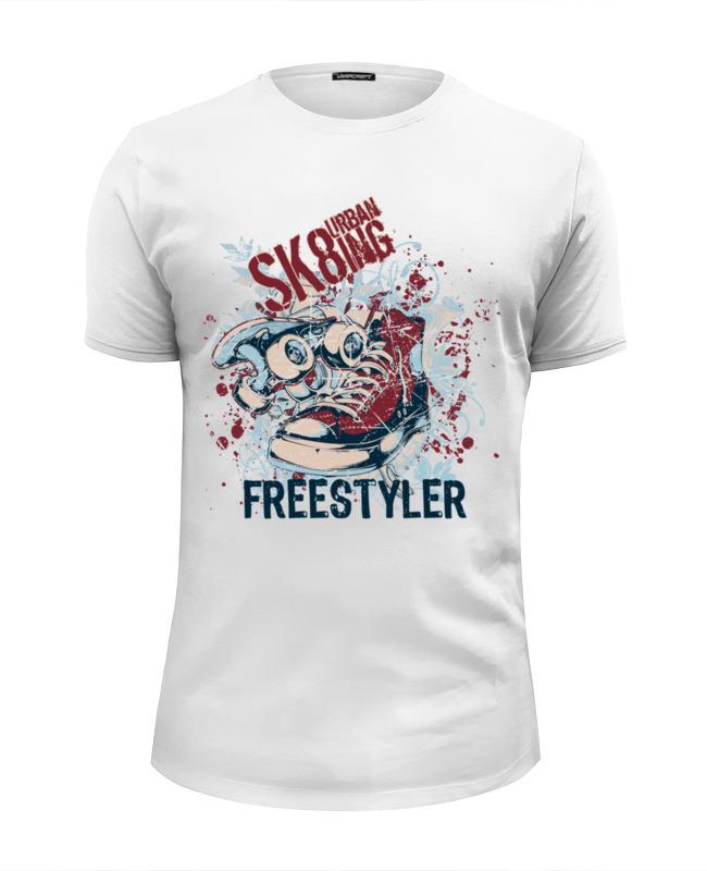 Printio Free styler футболка wearcraft premium slim fit printio free rick