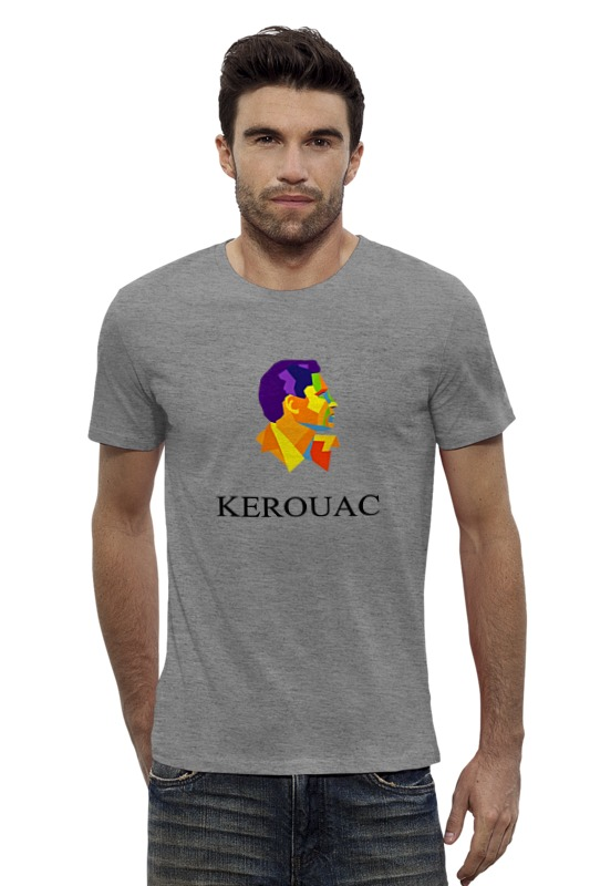 Футболка Wearcraft Premium Slim Fit Printio Jack kerouac футболка wearcraft premium printio светильник джек