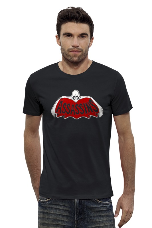 Футболка Wearcraft Premium Slim Fit Printio Assassins x batman футболка wearcraft premium printio ice king x batman
