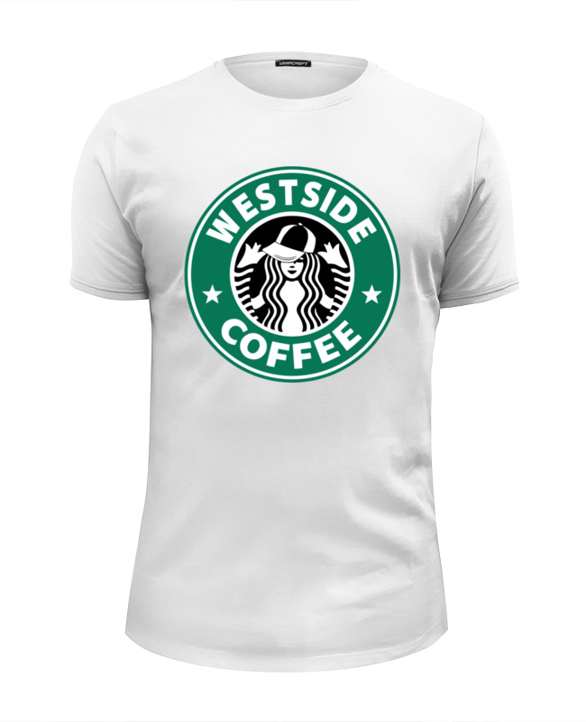 Футболка Wearcraft Premium Slim Fit Printio Westside футболка wearcraft premium slim fit printio westside barbell hoodie