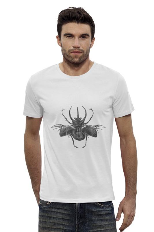 Футболка Wearcraft Premium Slim Fit Printio Жук-атлас футболка стрэйч printio вольскваген жук