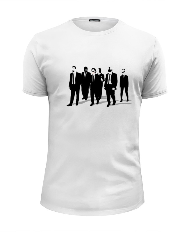 Футболка Wearcraft Premium Slim Fit Printio Reservoir dogs
