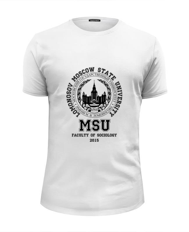 Printio Мгу(msu) футболка wearcraft premium slim fit printio мужская мгу