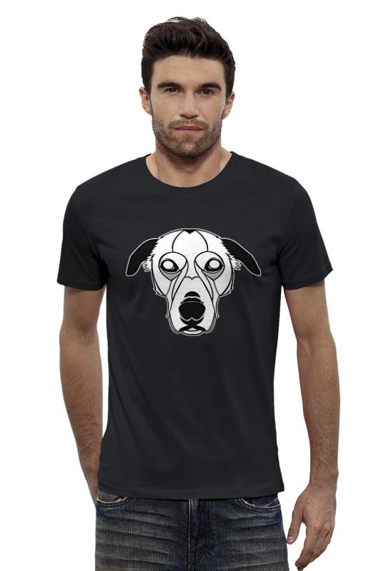 Футболка Wearcraft Premium Slim Fit Printio Собака (dog) сумка printio gta 5 dog
