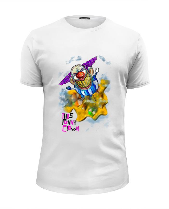 Футболка Wearcraft Premium Slim Fit Printio Funny clown футболка wearcraft premium slim fit printio insane clown posse