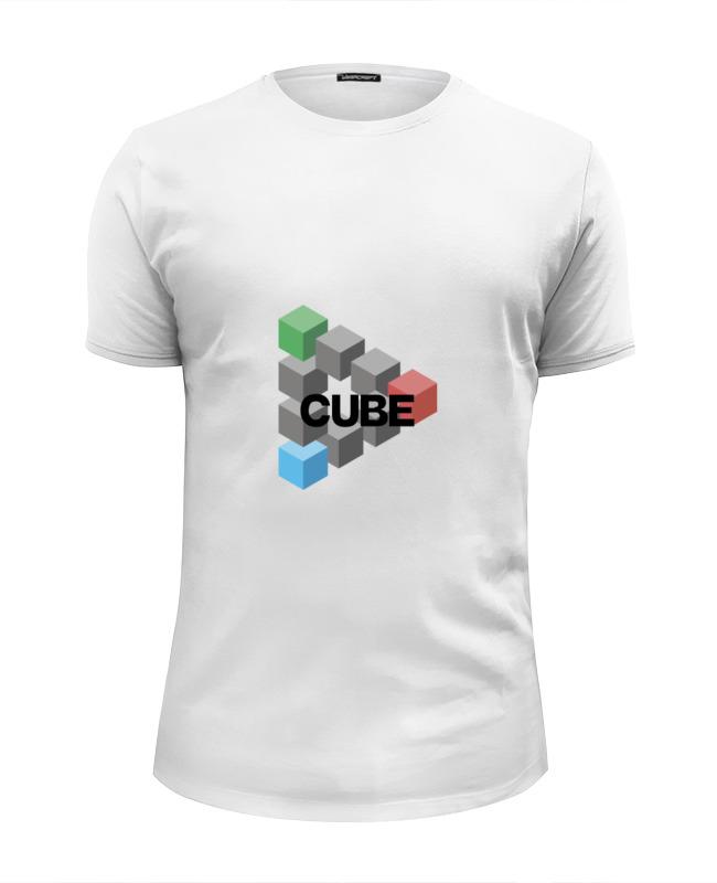 Футболка Wearcraft Premium Slim Fit Printio Symbol cube футболка cube sugar t vip