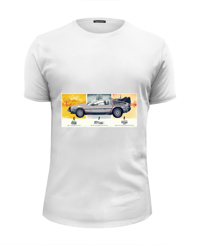 Футболка Wearcraft Premium Slim Fit Printio Назад в будущее футболка wearcraft premium slim fit printio случай в океане
