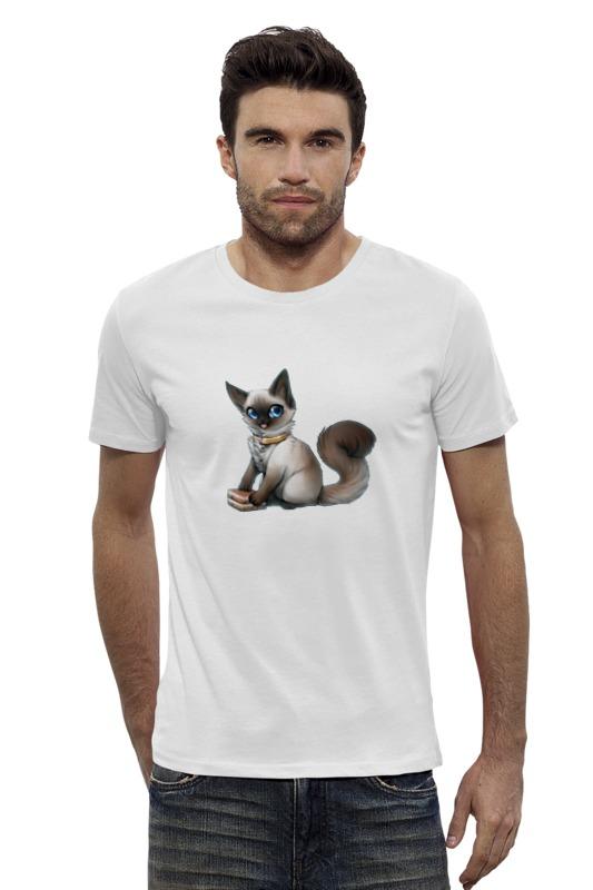 Футболка Wearcraft Premium Slim Fit Printio Кошечка футболка wearcraft premium slim fit printio avengers