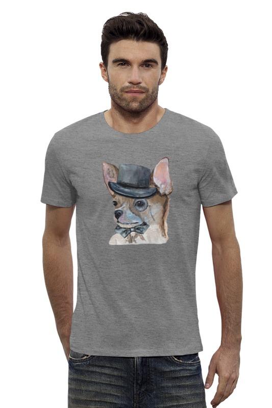 Футболка Wearcraft Premium Slim Fit Printio Чихуа собака купить чихуа на авито в орехово зуево