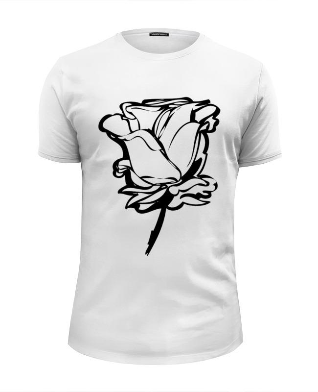 Футболка Wearcraft Premium Slim Fit Printio Розочка) футболка wearcraft premium slim fit printio northlane