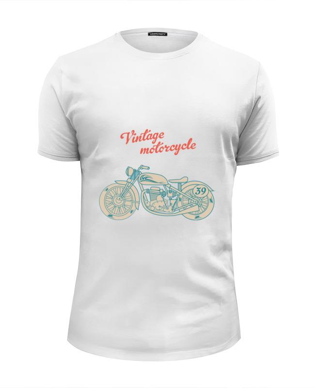 цена Printio Винтажный мотоцикл онлайн в 2017 году