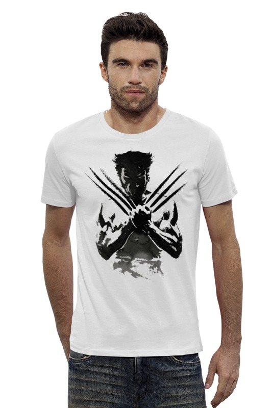 Футболка Wearcraft Premium Slim Fit Printio Росомаха (wolverine) marvel platinum the definitive wolverine reloaded