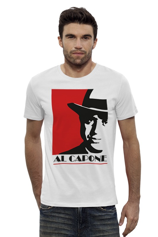 Футболка Wearcraft Premium Slim Fit Printio Аль капоне (al capone) аль атоми беркем марод р