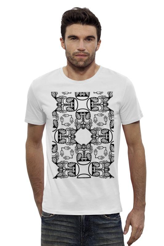 Футболка Wearcraft Premium Slim Fit Printio Индийские мотивы футболка wearcraft premium slim fit printio черно белый шут