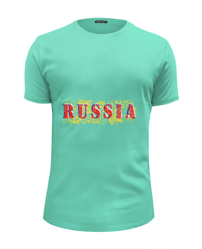 Футболка Wearcraft Premium Slim Fit Printio Russia футболка wearcraft premium printio welcome to russia