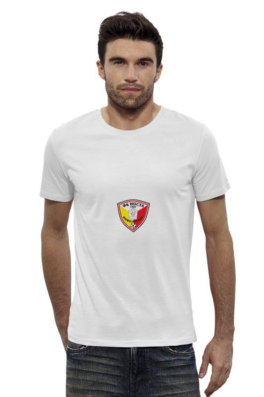 Футболка Wearcraft Premium Slim Fit Printio Фк носта новотроицк футболка wearcraft premium slim fit printio фк ростов