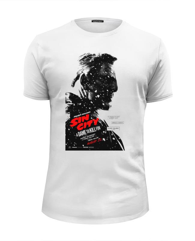 Футболка Wearcraft Premium Slim Fit Printio Sin city / город грехов футболка wearcraft premium slim fit printio sin city stenley leads