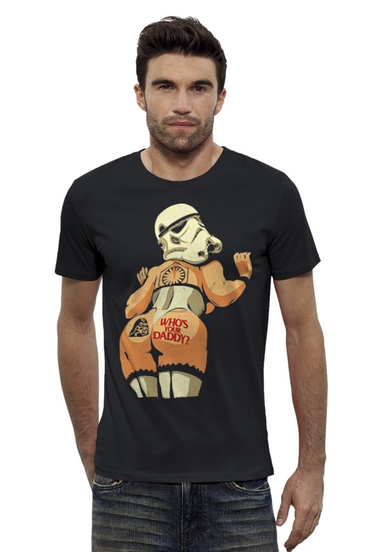 Футболка Wearcraft Premium Slim Fit Printio Звездные войны (star wars) футболка wearcraft premium slim fit printio рэй star wars звездные войны