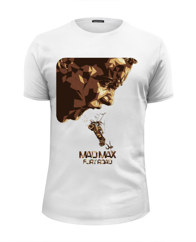 Футболка Wearcraft Premium Slim Fit Printio Безумный макс (mad max) футболка wearcraft premium printio безумный макс mad max