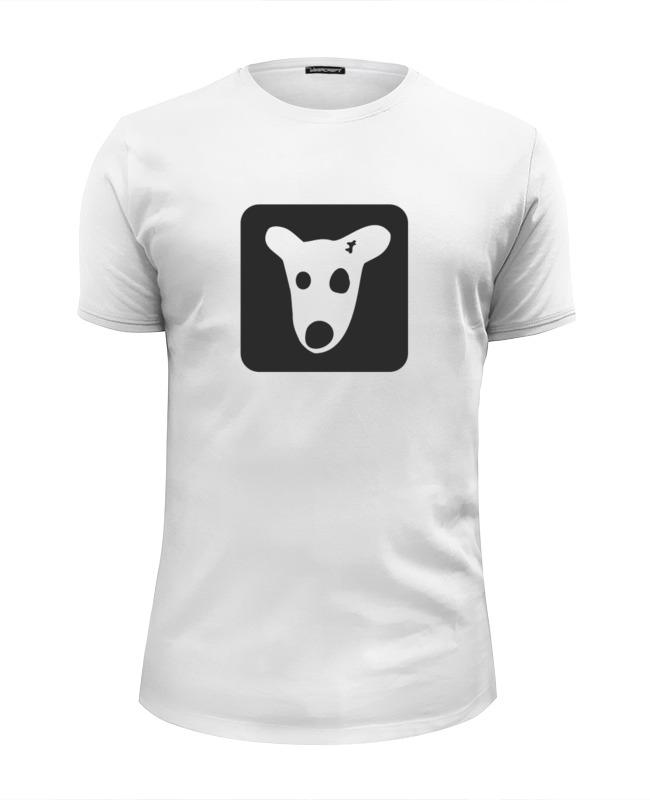 Футболка Wearcraft Premium Slim Fit Printio Собачка вконтакте футболка wearcraft premium printio тони монтана лицо со шрамом