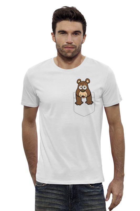Футболка Wearcraft Premium Slim Fit Printio Мишка футболка wearcraft premium slim fit printio мишка me to you