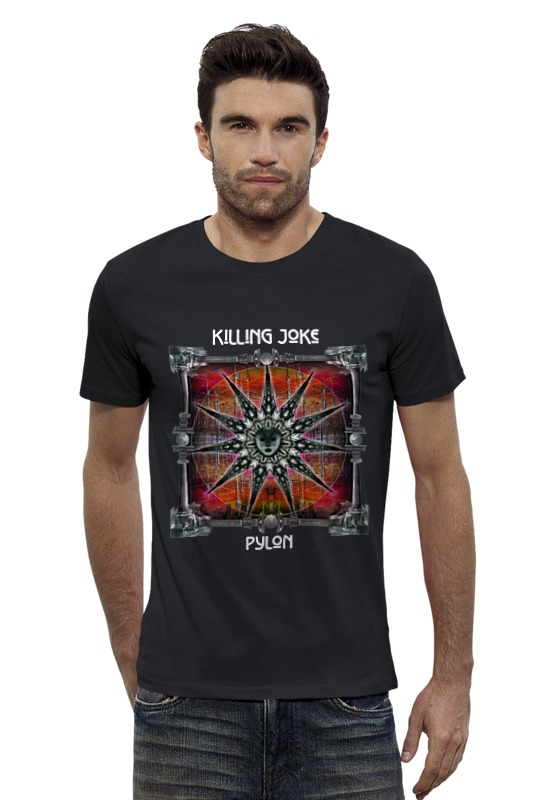 Футболка Wearcraft Premium Slim Fit Printio Killing joke / pylon kind worth killing