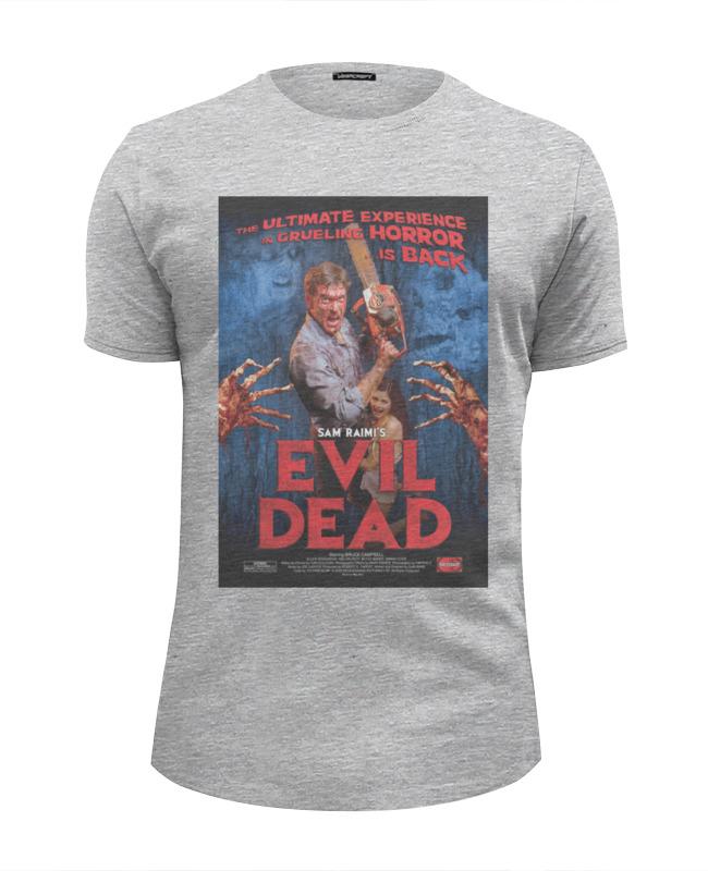 Футболка Wearcraft Premium Slim Fit Printio Evil dead / зловещие мертвецы футболка классическая printio evil dead зловещие мертвецы