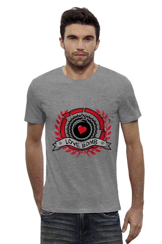 Футболка Wearcraft Premium Slim Fit Printio Love bomb bimast bomb premium купить челябинск
